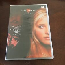 BUFFY THE VAMPIRE SLAYER DVD. SEASON 2, DISC THREE, EPISODES 9-12