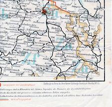 Hof Wunsiedel  Naila Selb 1931 orig. Post-Eisenbahn-Teilkarte Eger Berneck Rehau