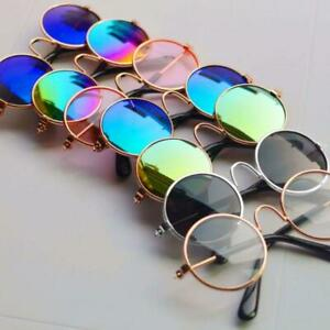 Cool Doll Glasses Pet Sunglasses For BJD Blyth American Grils Toy Photo Props