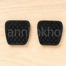 2X Honda Brake Clutch pedal pad rubber cover Civic Accord CR-V Prelude Acura CL