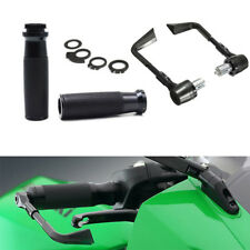"7/8"" Motorcycle Handlebar Handgrip + Protector Brake Clutch Systems Lever Guard"