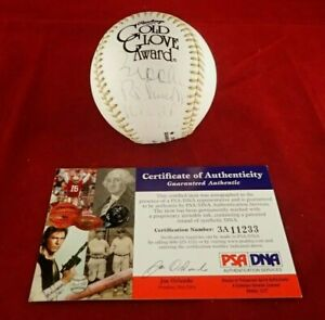 Brooks Robinson O's Signed Auto Official Gold Glove Baseball W/16 X GG - PSA/DNA