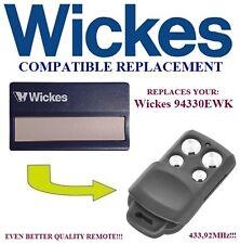 Wickes, Merlín, Liftmaster 433,92Mhz Control Remoto De Reemplazo Compatible