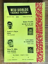 New Worlds Science Fiction UK Magazine No. 121 August 1962