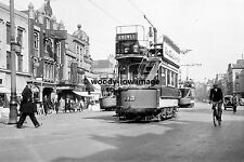 a0306 - Bristol Tram 113 by Empire Theatre - photograph