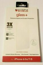 ZAGG InvisbleShield Glass+ Screen Protector fits for iPhone 7 iPhone 8 iPhone 6