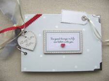 PERSONALISED LOVE ALWAYS /& FOREVER .A5 SIZE PHOTO ALBUM//SCRAPBOOK//MEMORY BOOK.