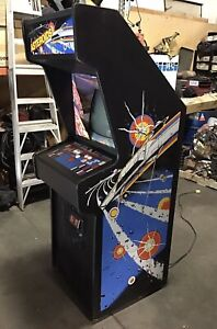 ASTEROIDS by ATARI - 1979 Arcade Video Game Coin-Op Cabinet - Needs Restoration