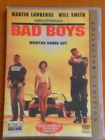 BAD BOYS  DVD 1997 16:9  PAL FORMAT REGION 2  Martin Lawrence, Will Smith