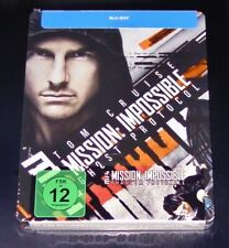 Mission: Impossible 4 Ghost/Phantom Protocol Limited Steelbook Blu Ray New