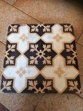 Antique Victorian Floor Tile. Steele & Wood