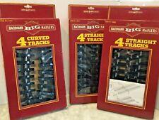 BACHMANN  BIG HAULER 4 CURVED TRACKS & 4 STRAIGHT TRACKS (2) IN BOX