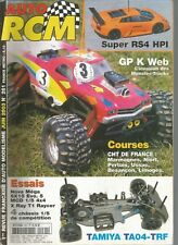 AUTO RCM  N°261 GP K WEB / SUPER RS4 HPI / NOVA MEGA / SX15 EVO 5 / MCD 4X4
