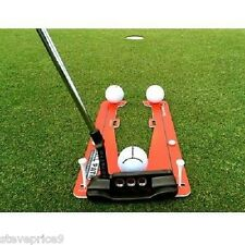 EYELINE GOLF PUTTING SLOT TRAINER, PRACTICE TRAINING AID.