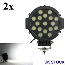 2x 12V 24V 51W LED WORK SPOT LIGHT LAMP CAR JEEP TRUCK BOAT OFFROAD ATV CHASSIS