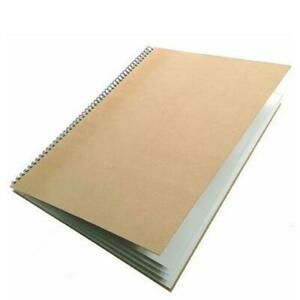 A2 Recycled Spiral Bound Sketchbook - NON-MINT 30% DISCOUNT