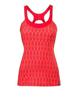 New With Tags! The North Face Cypress Knit Tank Tomato Red Print Size XS $50