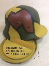 WK1 OCKER TARNFARBE LACK REICHSWEHR WELTKRIEG STAHLHELM 1kg VARIANTE OCKERGELB