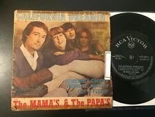 (BRAZIL) The Mamas & The Papas: California Dreamin PS picture sleeve 1966 RARE