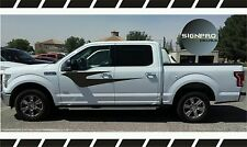 Ford F-150 F-Series Harley Davidson Style Scallope Side Decals Stripes Flames @