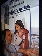 DES ENFANTS GATES ! Bertrand Tavernier Michel Piccoli affiche cinema 1977