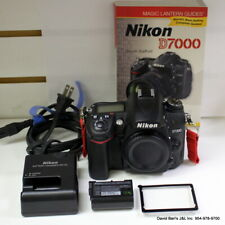 Nikon D7000 Digital SLR Camera - Black Body Only DSLR With Battery & Charger.