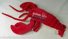 "Plush Red Lobster 16"" Doll Stuffed Animal Seafood City Jakarta Indonesia"