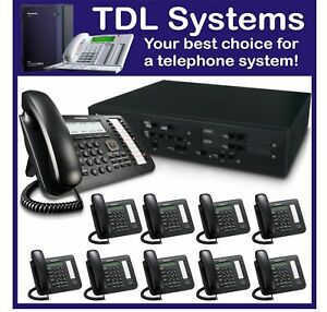 Panasonic NS700 IP Telephone System 4 Sip trunks 10 digital phones incl DSP card