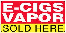 2x4 ft Vinyl Banner Vape Sign New - VAPOR E-CIGS SOLD HERE rb