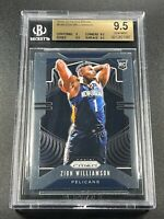 ZION WILLIAMSON 2019 PANINI PRIZM #248 ROOKIE RC BGS 9.5 GEM MINT NBA (A)