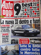 Auto OGGI n°159-160 1990 Audi Coupè 2.0 20 V - VW Corrado G60 - Nissan 20 [Q201]