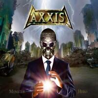 AXXIS- Monster Hero LIM. DIGIPACK +2 Bonustr. GER MELODIC METAL kingdom of the