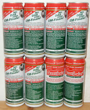 DAB SOOCER Facts 8 Beer cans set from GERMANY (50cl)
