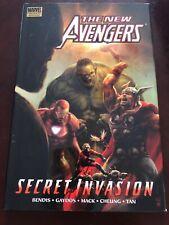 The New Avengers: Secret Invasion Book 1 Hardcover Graphic Novel Signed Tan Mack
