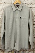 The North Face shirt top men large hiking fishing convertible sleeve outdoor E7