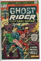 MARVEL COMICS Ghost Rider #17 with Son of Satan April 1976 GD