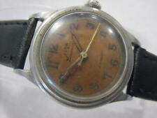 Vintage antique WWII World War II MILITARY BOVET FRERES SELZA AUTOMATIC watch