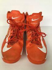 Women's Nike Hyperdunk 2012 Orange Blaze White Basketball Shoes 524882-800
