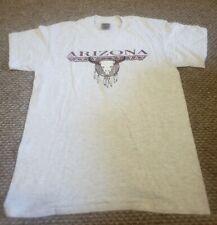 Arizona RARE sundog vintage/retro heather grey tshirt-western EUC Sz LARGE