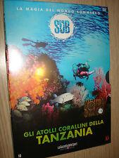 DVD N°10 SUB EL MAGIA DE MUNDO SUMERGIDO GLI ATOLONES CHANDAN DE TANZANIA