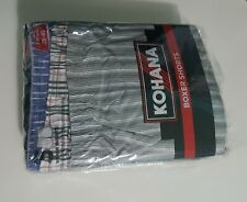 3 Mens Boxer Shorts  Polyester and  Cotton .All Sizes
