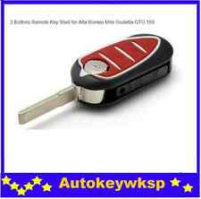 3 button flip key case shell with blank blade for Alfa Romeo 147 156 166 GT