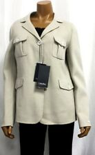 S' Max Mara MaxMara Design Balta Virgin Wool Angora Jacket Coat NWT $995
