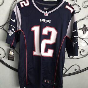 NFL Players Tom Brady New England patriots Jersey NWT Womens Small Free Shi