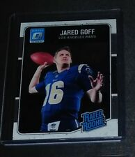 2016 Donruss Optic Jared Goff Rookie Mint Red Hot