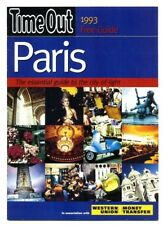 TIME OUT MAGAZINE Paris 1993 Essential guide to the city of light