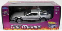 Welly 1/24 Scale Diecast 22443W Delorean Time Machine - Back To The Future