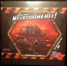 Neuroshima Hex 3rd Edition Board Game MINT Z-Man Games