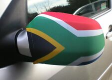 CAR WING MIRROR SOCKS FLAGS, COVERS, FLAG-UPS! - SOUTH AFRICA