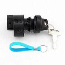 Ignition Key Switch For Polaris ATV Trail Blazer 2000 2001 4 Pins Free Keychain